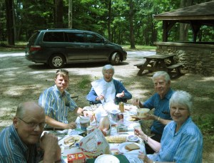 Picnic at Clifty Falls