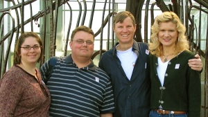 Joanne, Andrew, Wes and Rachelle at the Hunter Musuem in Chattanooga.