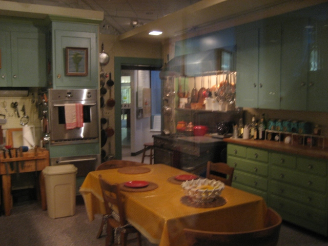 Julia Child's kitchen.
