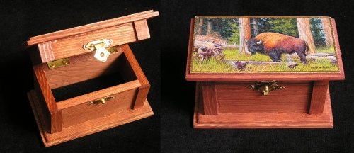 My Paintbox for The Wildlife Art Museum