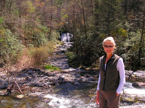 Me in front of Meigs Falls in the Great Smoky Mountains National Park.