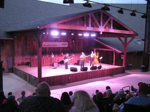 Heritage Center Concert in Townsend, Tennessee.