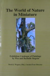 "Our book, ""The World of Nature in Miniature""."