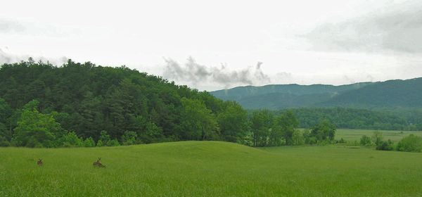 photo of cades cove