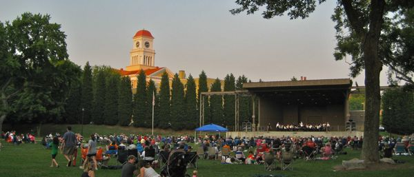 photo of Knoxville Symphony on the Greenbelt in Maryville