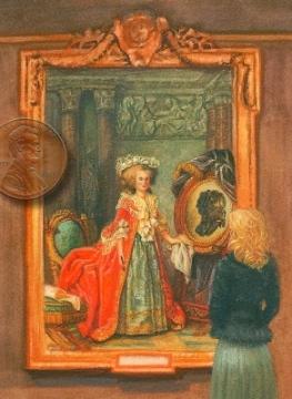 Madame Adelaide portrait miniature