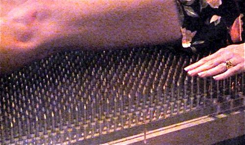 photo of bed of nails