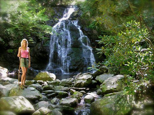 photo of spruce flat falls