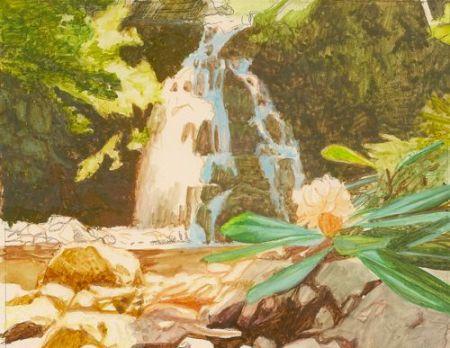 miniature landscape painting