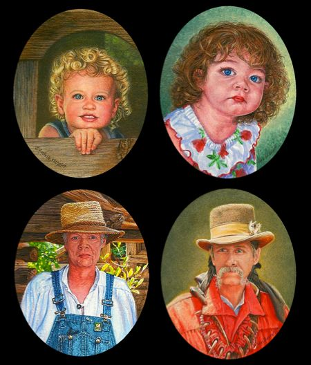 Portrait Miniature Paintings