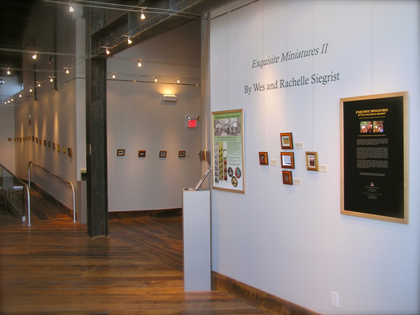 Exquisite Miniatures II at the Yadkin Cultural Arts Center