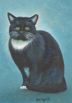 Cat Painting commission