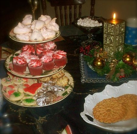 photo of christmas cookies