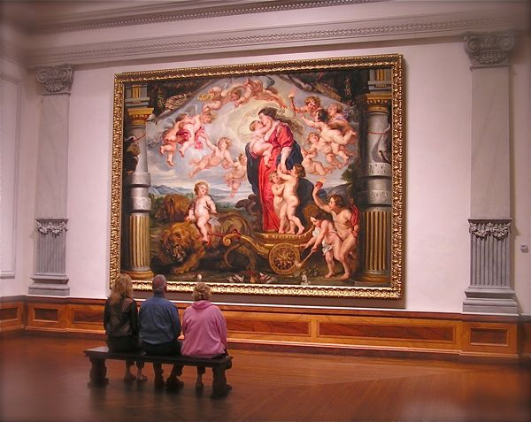 painting in the ringling art museum