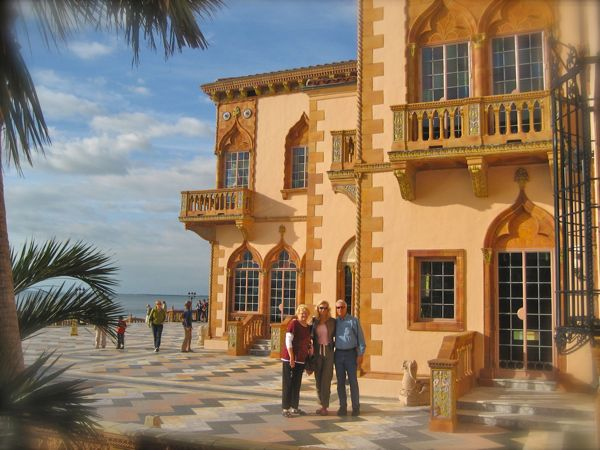 photo of the ringling's home