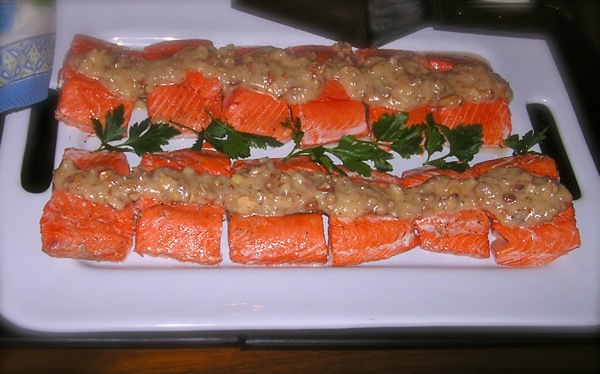 Mary Lou's salmon