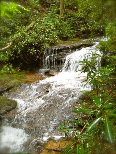 waterfalls in brevard