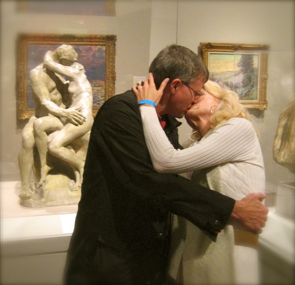 image of auguste rodin the kiss