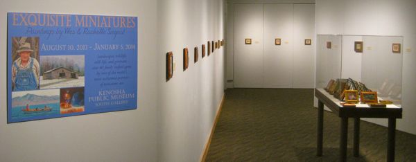 fine art exhibition at kenosha public museum