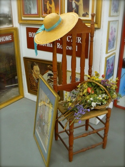 norman rockwells painting props