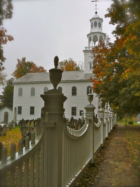 The Old First Church in Bennington, VT