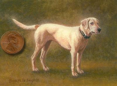 dog painting image