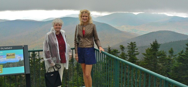 Mt. Equinox Saint Bruno Scenic Viewing Center