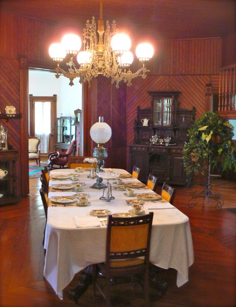 Lapham-patterson house dining room