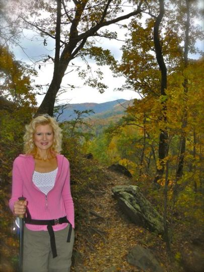 Rachelle Siegrist at spruce flats in october