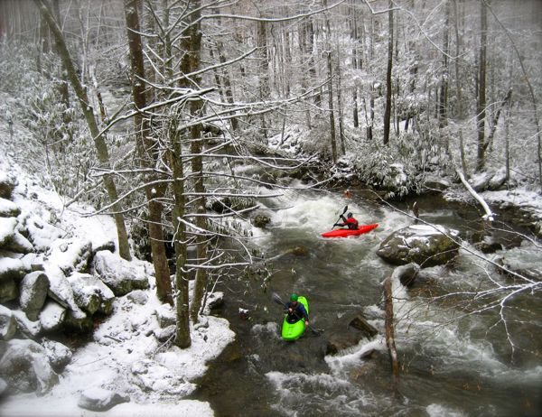 kayaking in the smoky mountain national park