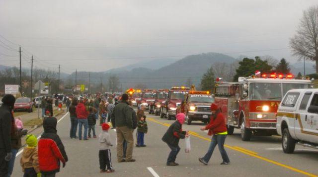 townsend christmas parade 2013