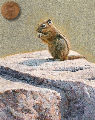chipmunk painting