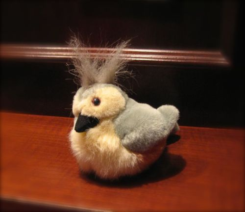 Tufted Titmouse toy