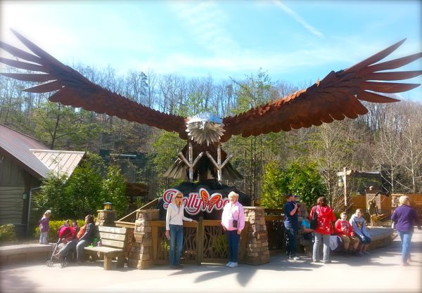dollywoods eagle ride