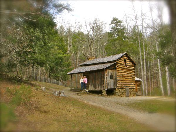 Elijah Oliver cabin in Cades cove