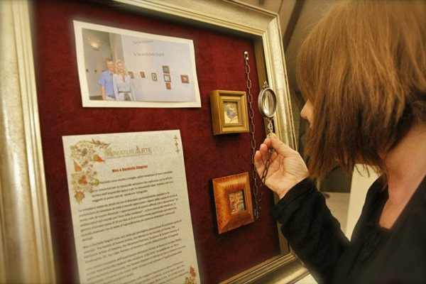 Siegrist Miniature Paintings in Italy