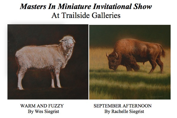 Siegrist Paintings at Trailside Galleries