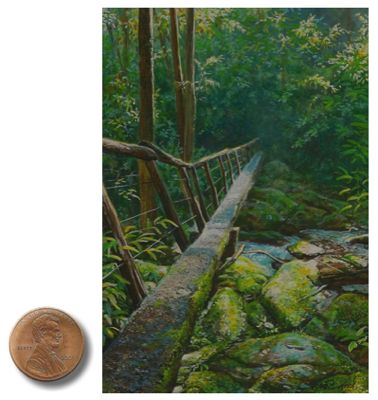 Smokies Landscape Painting By Wes Siegrist