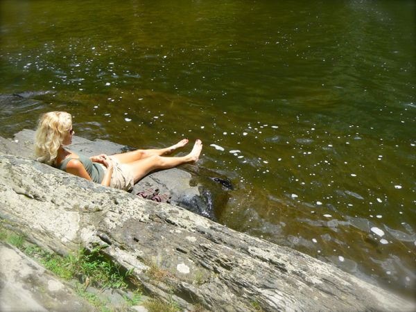 rachelle siegrist at abrams falls