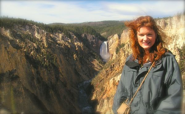 Rachelle Siegrist in Yellowstone 2004