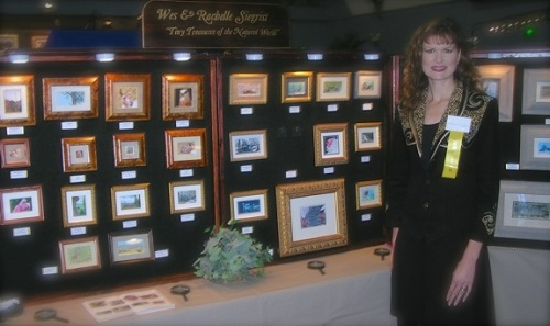 Rachelle Siegrist at the 2004 Southern Wildlife Festival in Decatur, AL