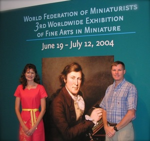 The Siegrists at the Smithsonian Institution for the 3rd WFM Exhibition