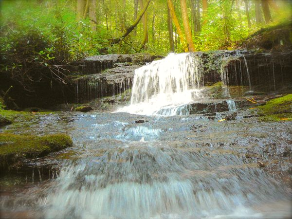transylvania county waterfall