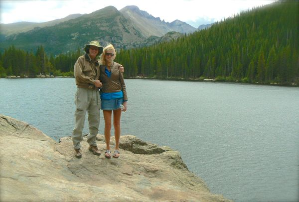 wes and rachelle siegrist by bear lake