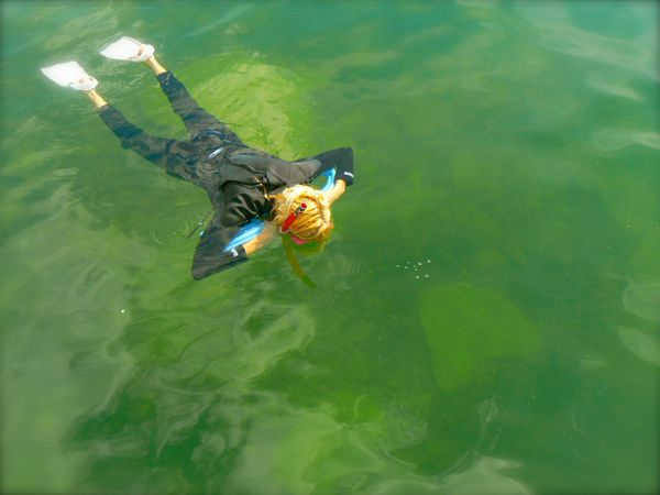 snorkeling dale hollow lake