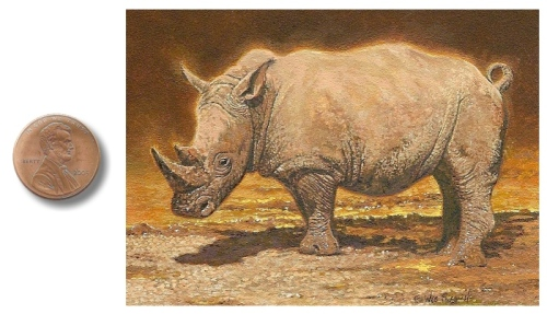 Rhino painting by_Wes_Siegrist1