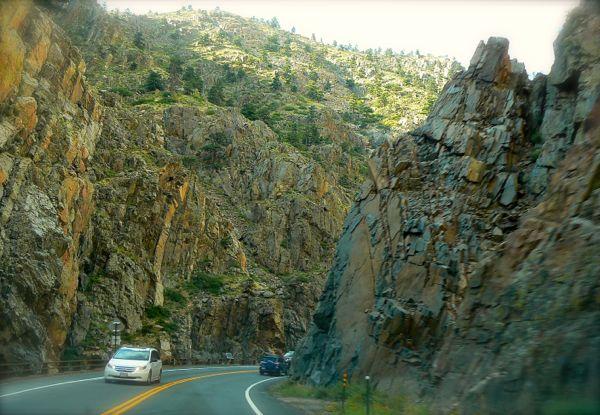 tompson canyon near estes park