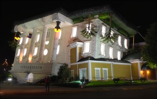 wonderworks building at night