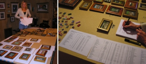 The Siegrists: Staging a museum exhibition involves a lot of paperwork!