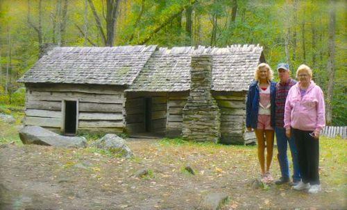 ephraim bales cabin at roaring fork